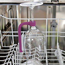 Flexible Wine Glass Dishwasher Attachment  Stabilizer