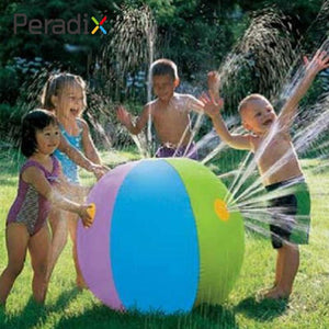 Multicolor Inflatable Water Ball Sprinkler