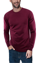 Crewneck Slim Fit Pullover Sweater