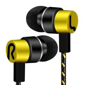 Universal 3.5mm In-ear Earphone 3.5mm Super Bass Headset Hifi Stereo Music Earbuds Sport Earphones For Mobile Phone
