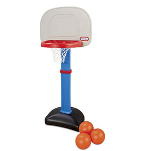 LT Little Tikes EasyScore Basketball Set, Blue - 3 Ball Amazon Exclusive