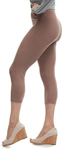 LMB Extra Soft Capri Leggings with High Wast - 20+ Best Selling Colors - Plus
