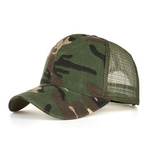 Fashion Camouflage Mesh Baseball Cap