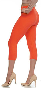 Extra Soft Capri Leggings with High Wast