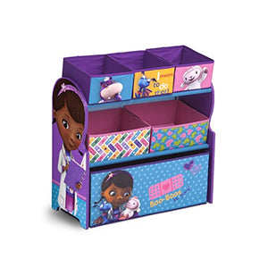 Delta Children Multi-Bin Disney Princess Toy and Bedroom  Fun Time Daily  Organizer