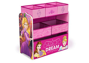 Delta Children Multi-Bin Disney Princess Toy Organizer