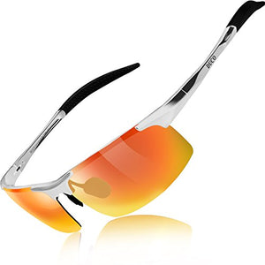 DUCO Mens Sports Polarized Sunglasses UV Protection Sunglasses for Men