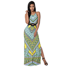 Long Bohemian Sleeveless Summer Beach Dress
