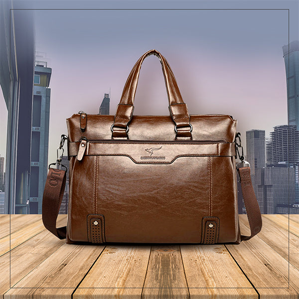 Arrive In Style With These Men's Office Bags