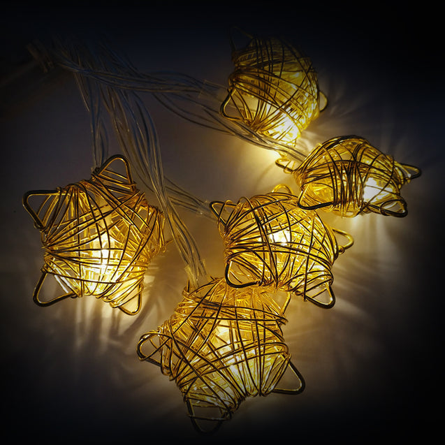Decorative Led Wire Light String In Different Shapes- 12795