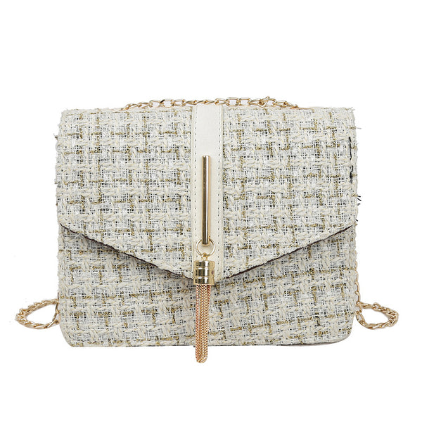 Elite New female woolen tassel shoulder bag