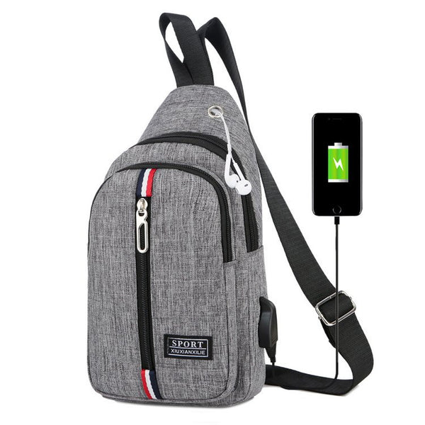 Ales Usb charging smart crossbody bag