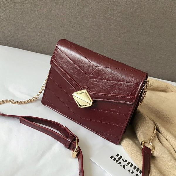 Ales Retro style Chain strap shoulder bag