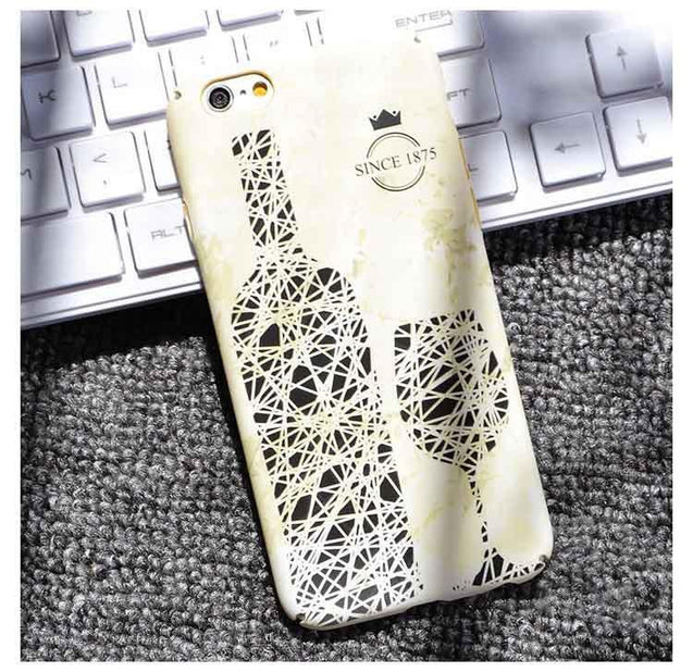 Creative Beer Bottle Printed iPhone 6S/ 5S/ 7 Plus Case-1534