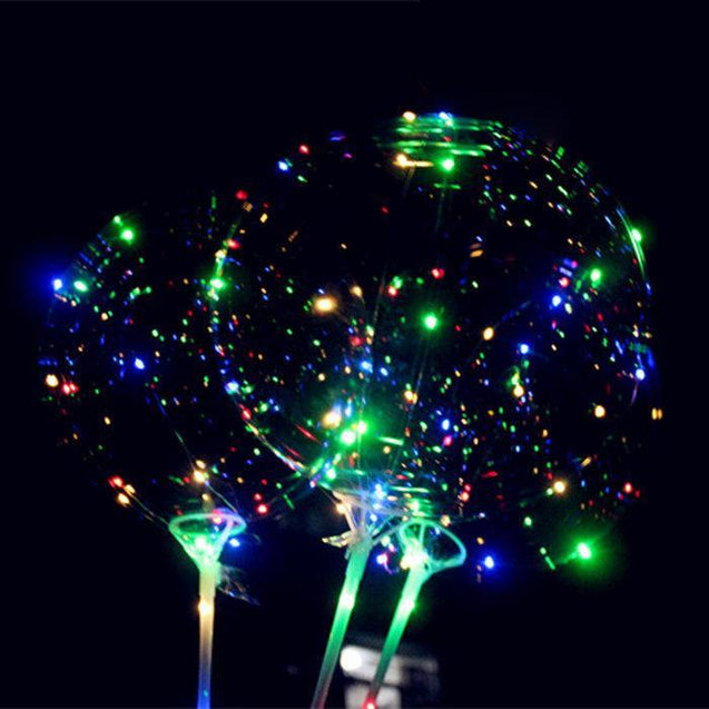 Christmas Led Luminous Balloons Party - GlobePanda