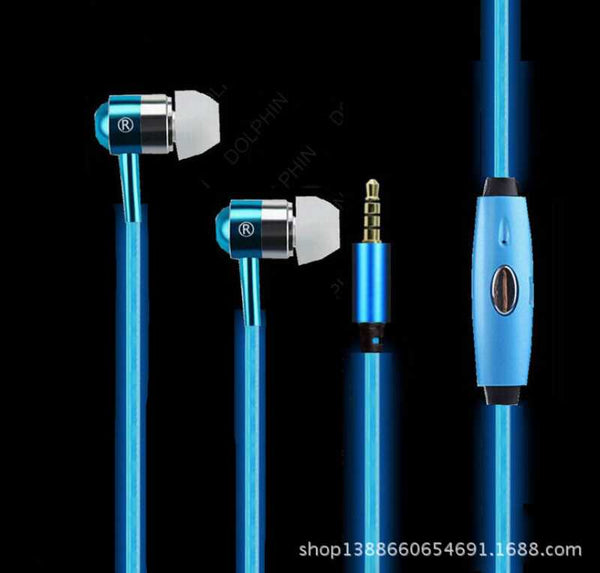 Lighting Earphone with Mic-7898