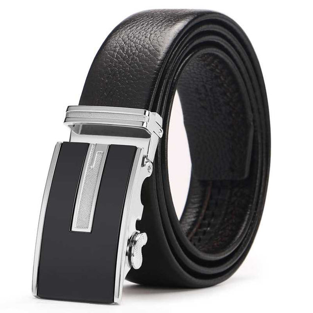 Double-Sided Suede Leather Men'S  Belt -12382