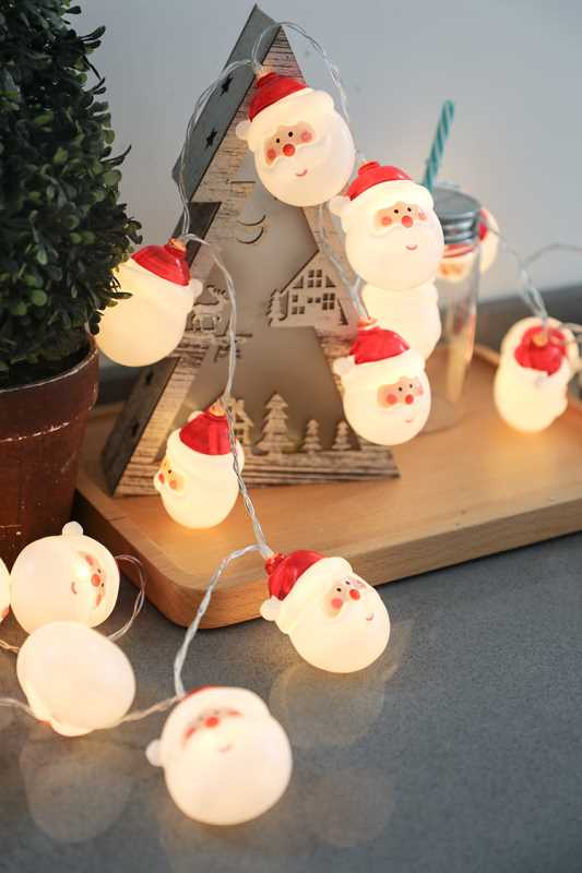 Led Santa Claus String Room Decoration Lights -14110