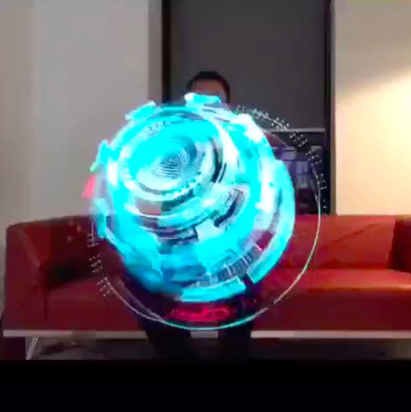 Holographic Table Fan - 3263