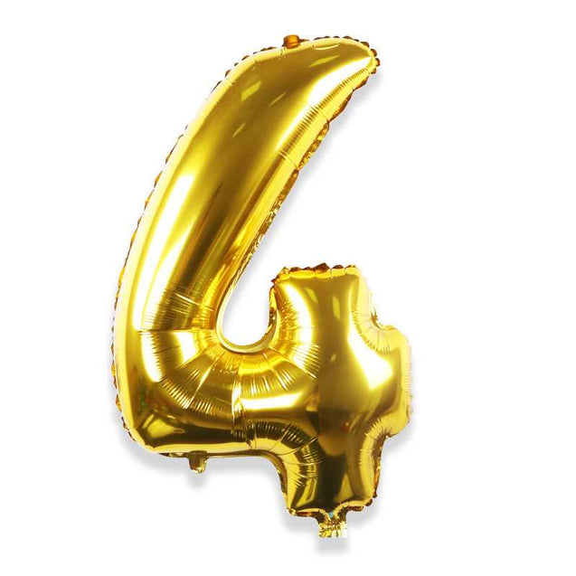 32 Inch Medium Letter Alphanumeric Aluminum Balloon Birthday Wedding Decoration Road Lead Wholesale -12275