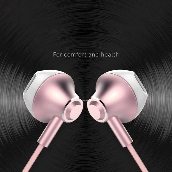 Wired Earbud Earphone With Mic-7784