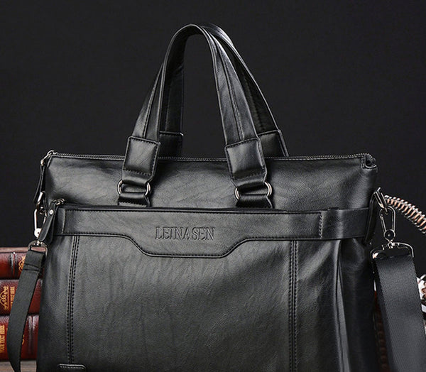 Leinsen New men's big shoulder bag