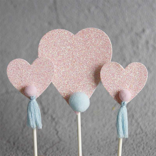 Little Hearts Cake Decoration-13138