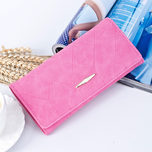 Chic Football pattern ladies fold wallet
