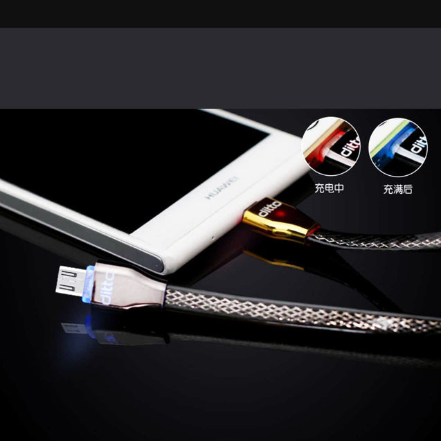 USB Data Cable for Hassle-Free Charging and Transfer (Android Head)-6368