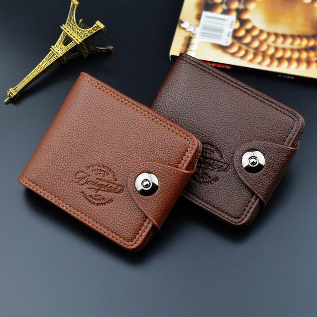 Magnetic Buckle Wallet For Men - 25336