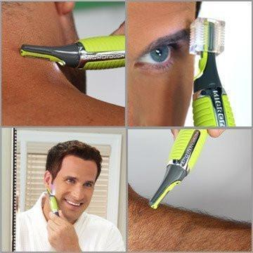 Cordless Hair Trimmer With Built In Led Light Trimmers & Shavers - GlobePanda