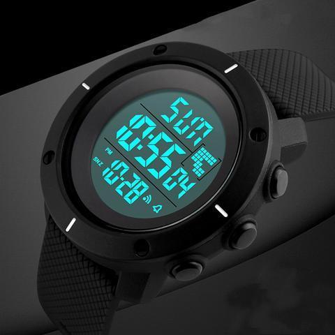50m Waterproof Sports Digital Watch Watches - GlobePanda