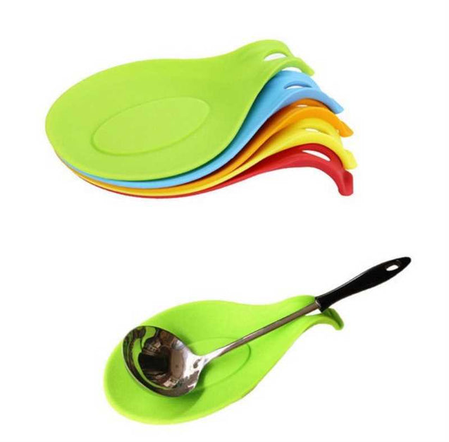 Laddle Coasters Silicone Useful Kitchen Tool-5510