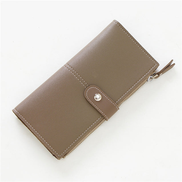 Brume New Retro Buckle Ultra-Thin Wallet - 27222