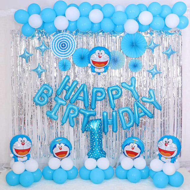 Christmas Day Party Decoration Rain Silk Wall Curtains Birthday Balloons Background Wholesale -12281