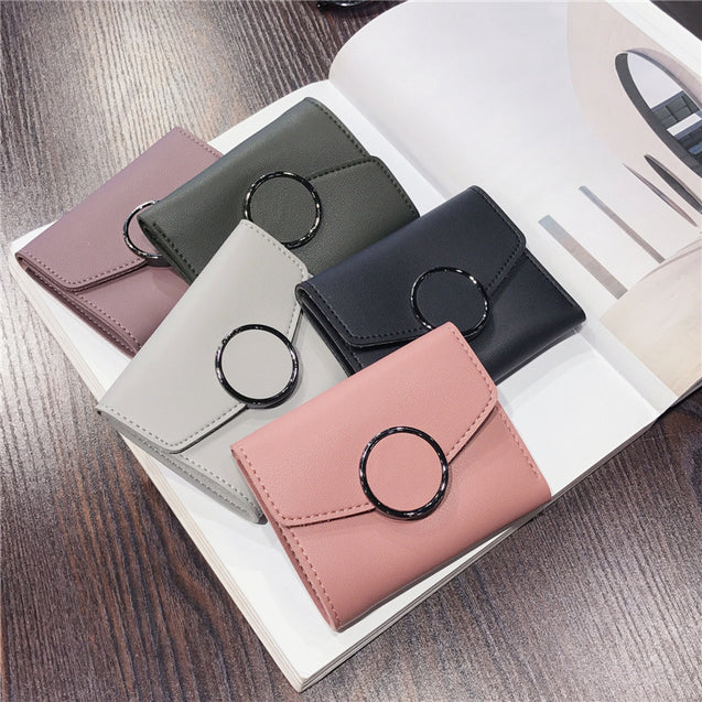 Brume New Female Three Fold Wallet - 27560