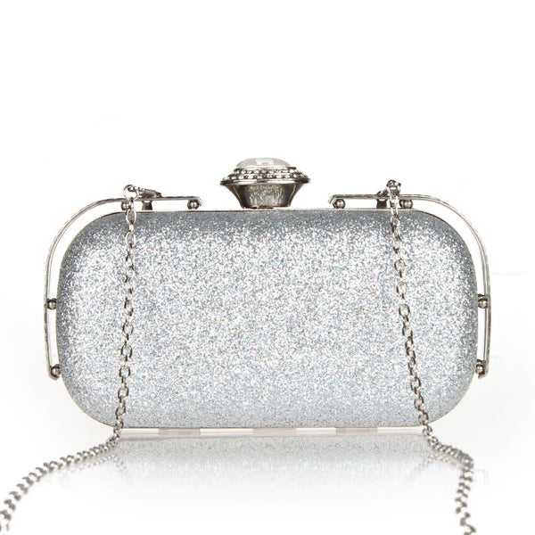 Clasp New small railings clutch bag