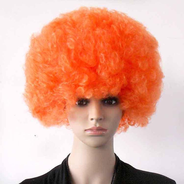 Colorful Valentine's Carnival Afro Wig Party - GlobePanda