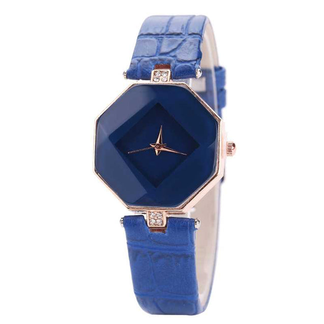 Analog Style Geometric Shaped  Watch For Women