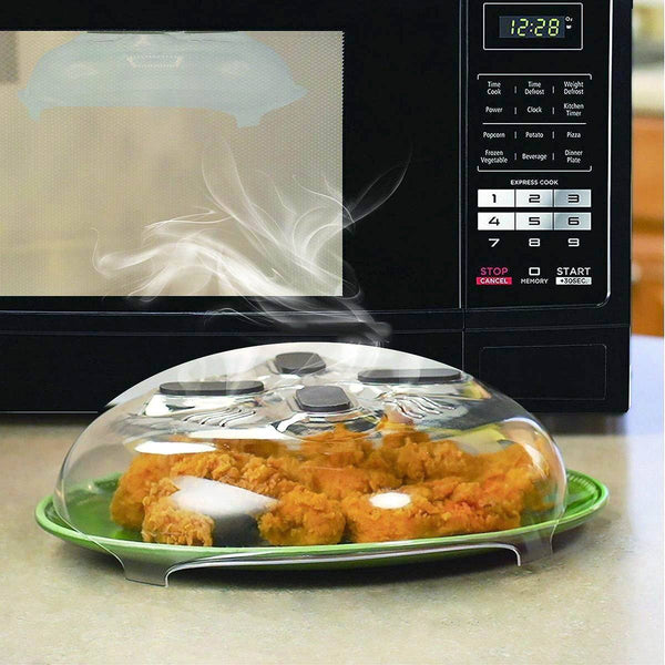 air tight, spill proof, magnetic, adjustable, microwave, heat resistant, hover cover