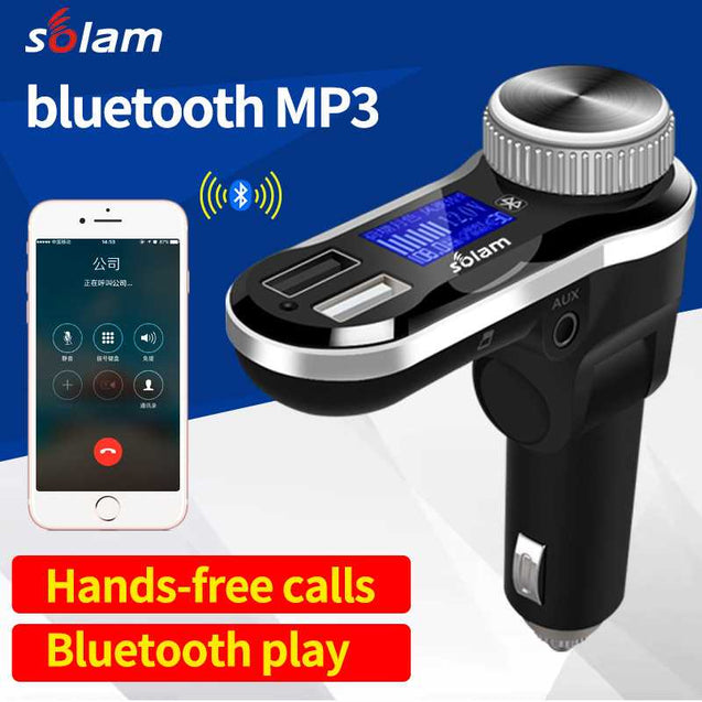 Car Bluetooth Mp3 Player And Usb Charger For Mobile Phone-10376