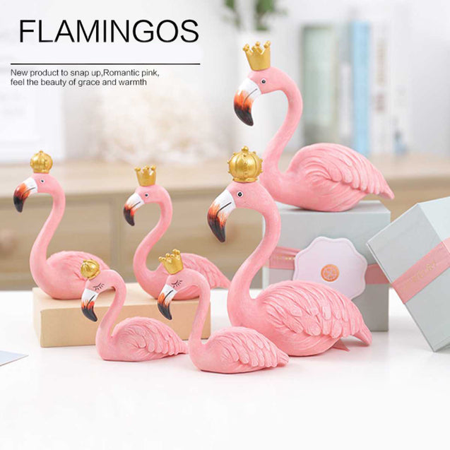 Flamingo Cake Decoration - 14581