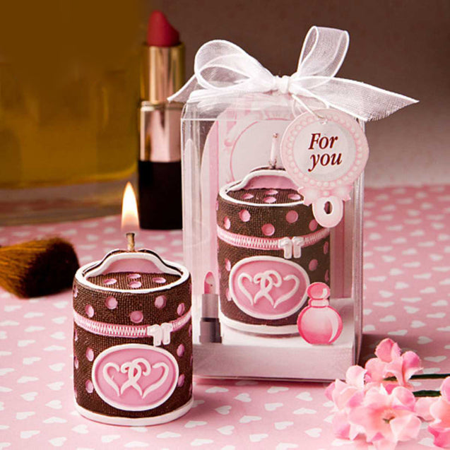 Cosmetic Bag Romantic Creative Birthday Candle-12923