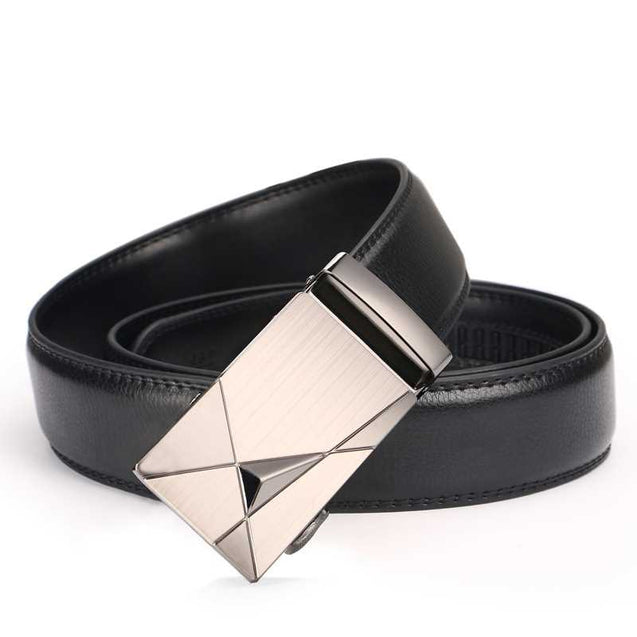 Fashionable Automatic Buckle Featured Belt For Men-12360
