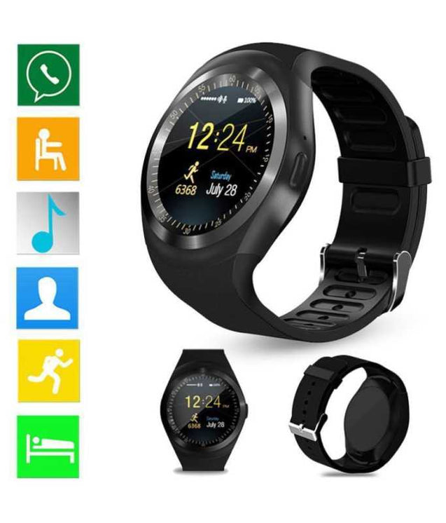 Bluetooth Smart Watch With Android Platform