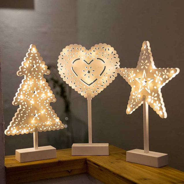 Decorative Led Lamp In Different Shapes- 12728