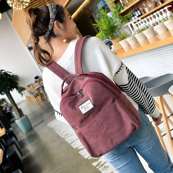 Xinbei New fashion student backpack bag