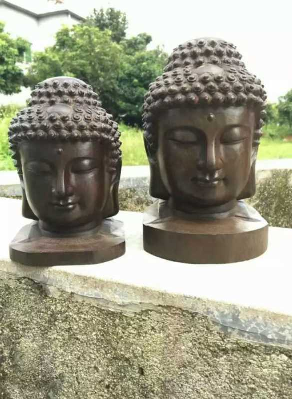 Woodcarving  Agarwood Buddha Statue -14038