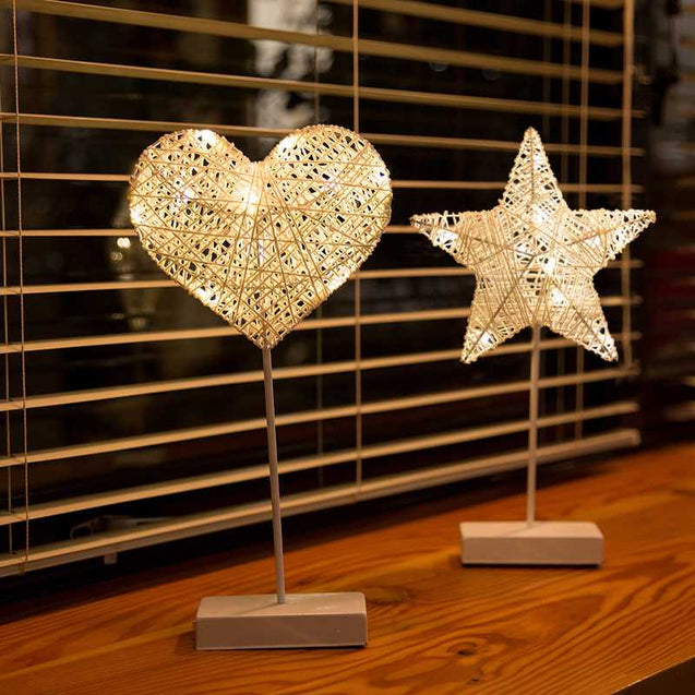 Decorative Led Lamp In Different Shapes- 12710