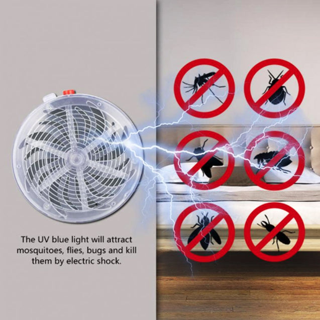 Solar Powered Mosquito Zapper for Indoor as Well as for Outdoors -5321
